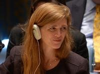U.S. Ambassador to the U.N. Samantha Power.
