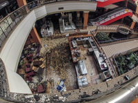 Westgate Mall in Nairobi after the deadly assault by Islamist gunmen on September 21, 2013.
