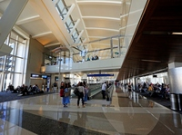 A photograph taken last month of the south concourse of L.A. International Airport's Tom Bradley International Terminal.