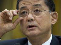 Veterans Affairs Secretary Eric Shinseki testifies on Capitol Hill in April.