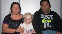 Greece's Hellenic Police say they found the girl living with the Roma couple last week. Authorities have sought tips that might lead to information about her identity.