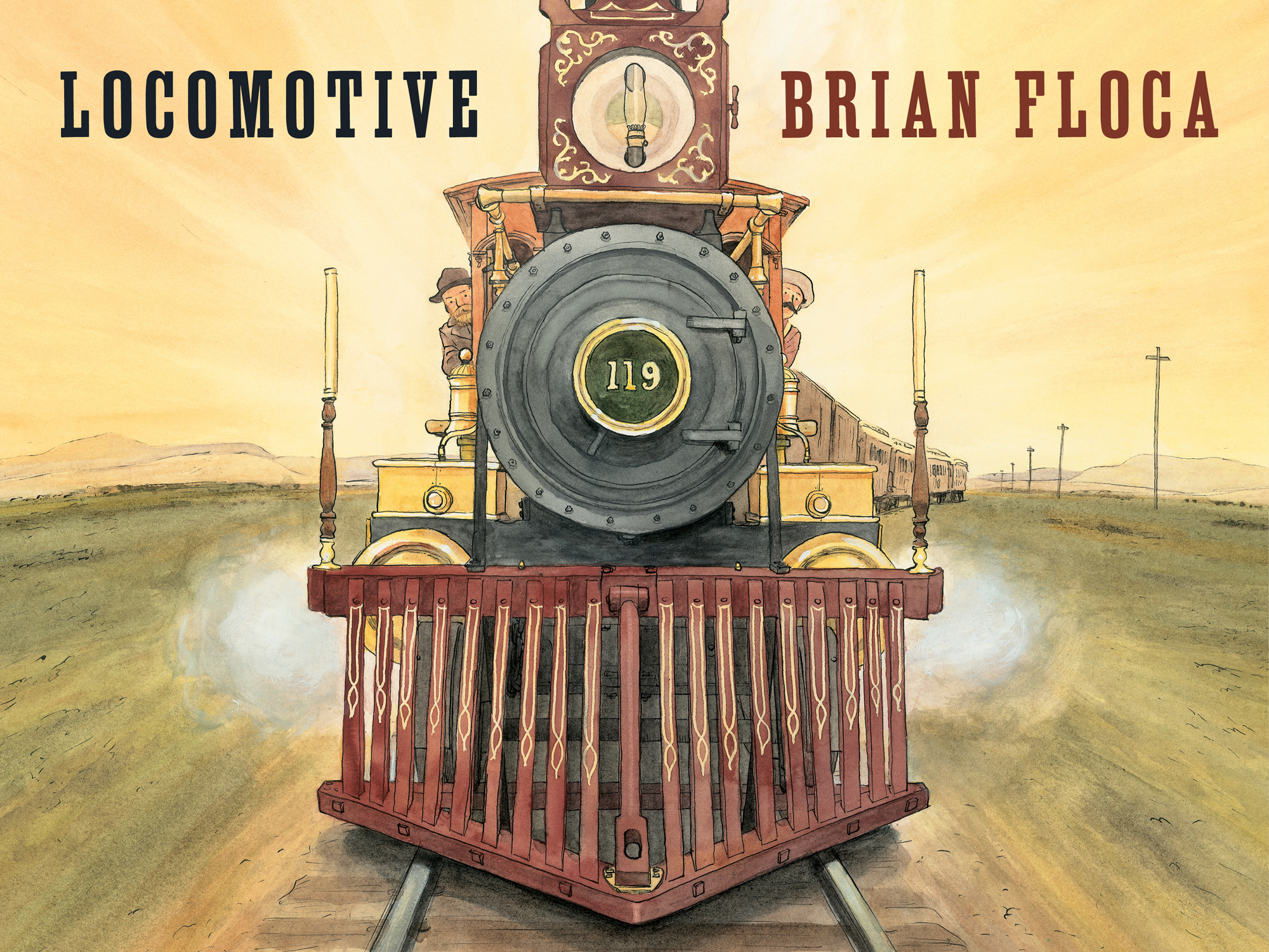 Locomotive book cover