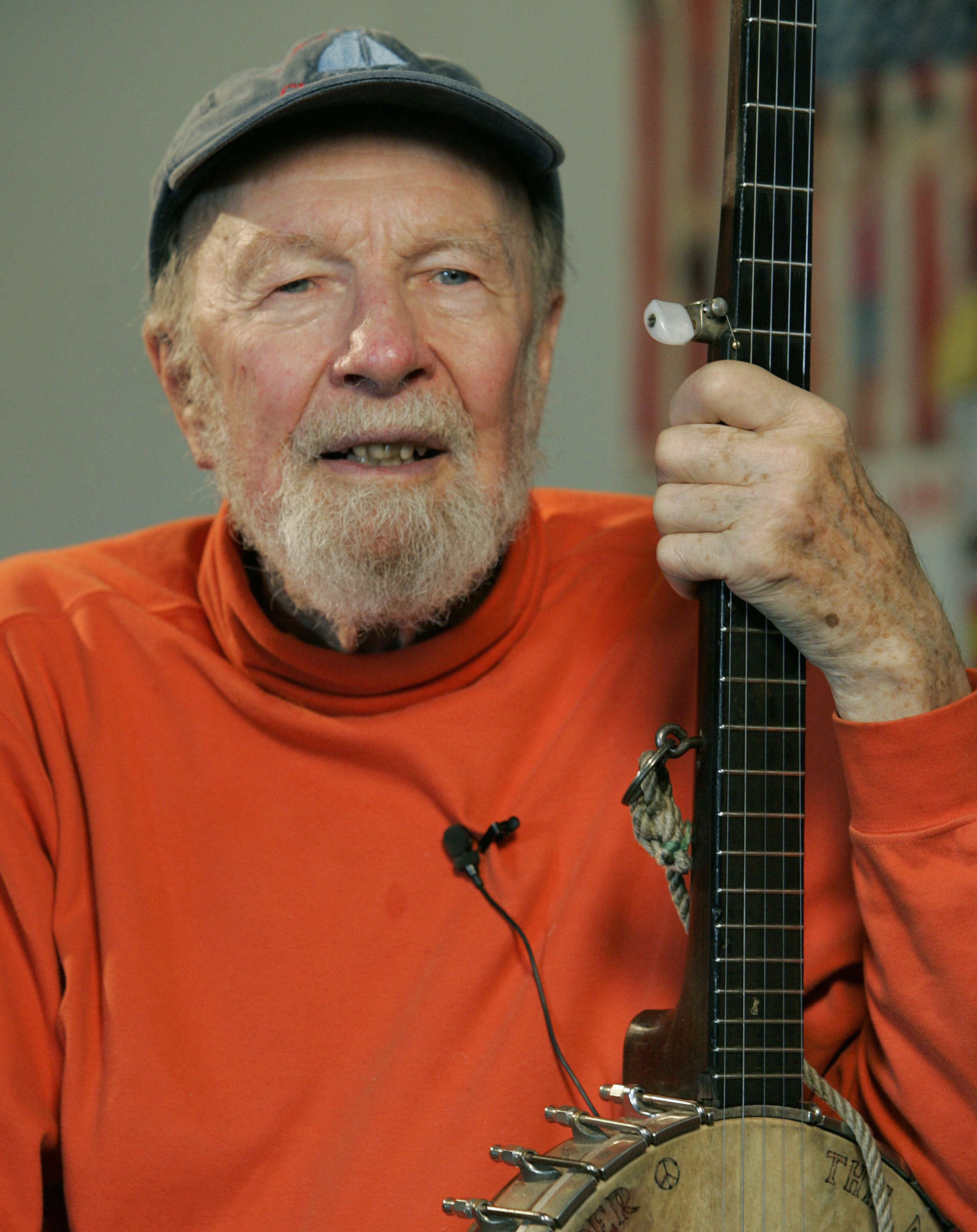 Pete Seeger in 2006.