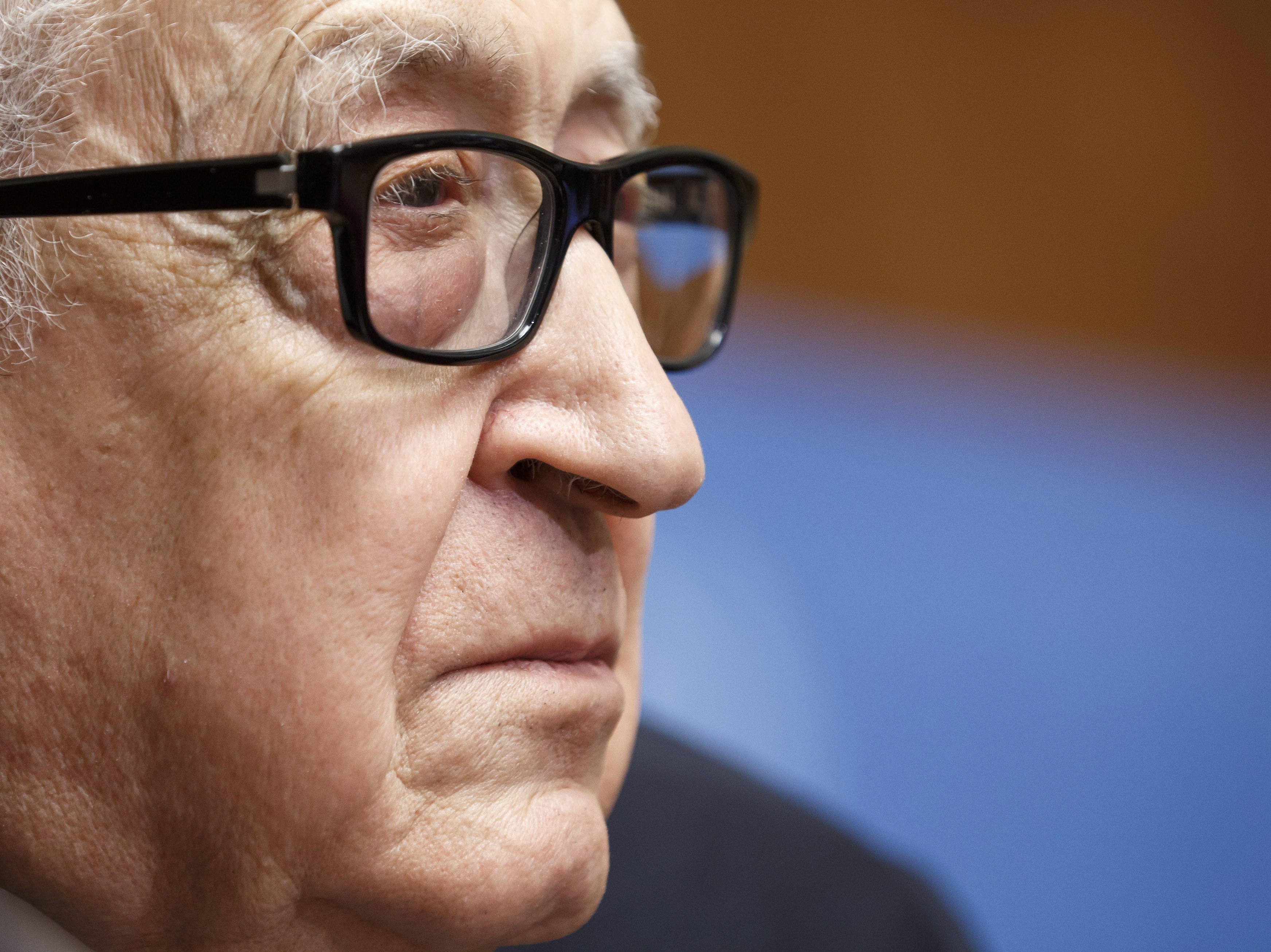UN-Arab League Special Envoy to Syria Lakhdar Brahimi is pictured during a news conference in Geneva on Saturday.