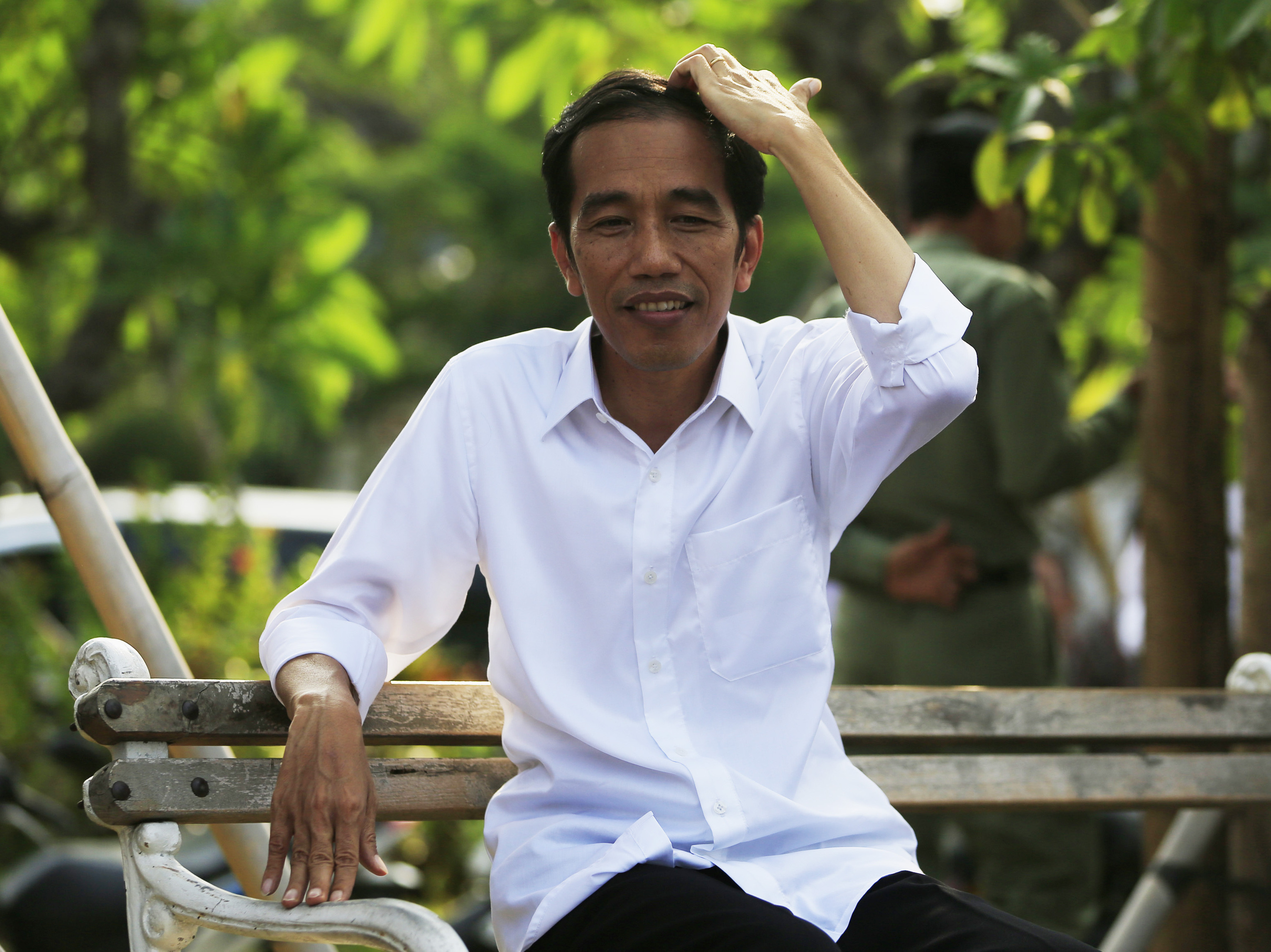 "Indonesia's President-elect Joko ""Jokowi"" Widodo is asking ordinary people to help him choose his government."
