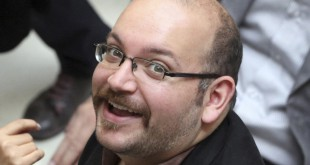 Jason Rezaian, Tehran correspondent for The Washington Post, is seen April 11, 2013.