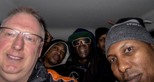 Photographer Kevin Well, 50, drove Flavor Flav, Chuck D and their entourage to a show in his Ford Focus.