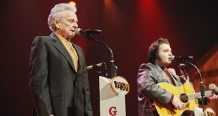 Ralph Stanley performs at the Grand Ole Opry in Nashville in 2011.