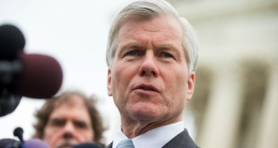 Former Virginia Gov. Bob McDonnell speaks outside the Supreme Court in April.