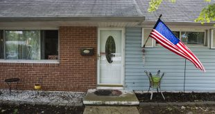 The house of Harold Thomas Martin III, a federal government contractor who is accused of stealing classified information, in Glen Burnie, Md.