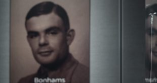 A poster of mathematician and computing innovator Alan Turing.