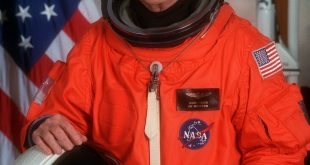 Portrait Of U.S. Sen. John H. Glenn Jr. in 1998, when he served as Payload Specialist For Space Shuttle Sts-95. Glenn has died at the age of 95.