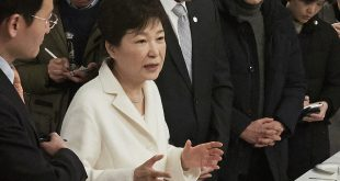 South Korean President Park Geun-hye was impeached by the country's parliament in December and is awaiting a ruling by the country's constitutional court as to whether she will be removed from office.