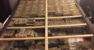 U.S. authorities seized approximately $20 million in cash hidden inside a box spring in apartment in Westborough, Mass., on Jan. 4.