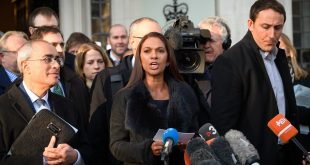 """Only Parliament can grant rights to the British people — and only Parliament can take them away,"" says lead claimant Gina Miller, seen here speaking outside the Supreme Court in London Tuesday. Judges sided with Miller in her case seeking to block Prime Minister Theresa May's plan to trigger Brexit."