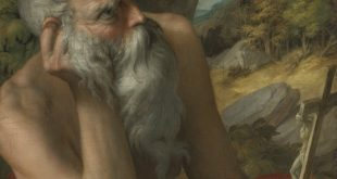 St. Jerome was previously thought to have been painted by a 16th century Italian artist. According to a complaint filed by Sotheby's auction house, it is actually a modern fake, painted in the 20th century.