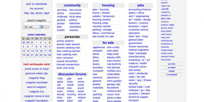 Craigslist Shuts Down Personals Section After Congress ...