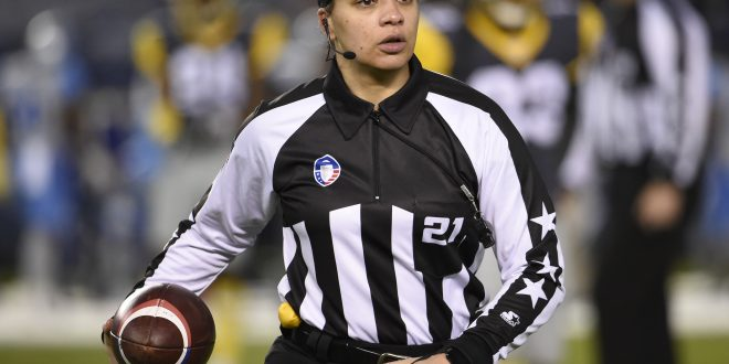 NFL Names Its First Black Female Official - Nation & World ...