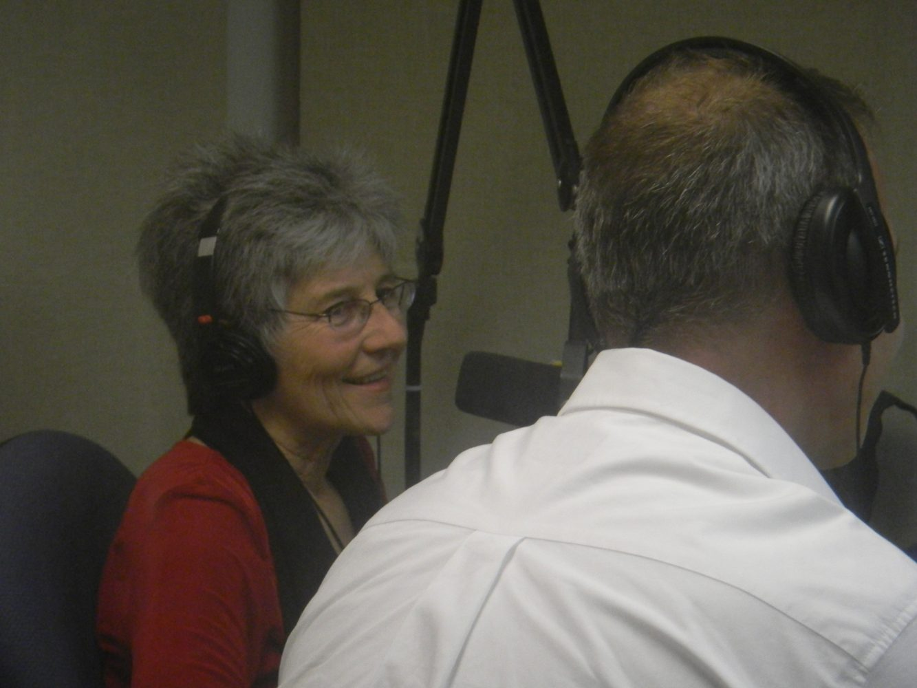 Executive Director of the new River Phoenix Center for Peacebuilding, Dot Maver (photo by Donna Green-Townsend)