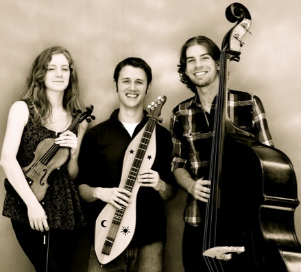 Aaron O'Rourke Trio (from left to right Katie Geringer, Aaron O'Rourke and Eric Alvar)