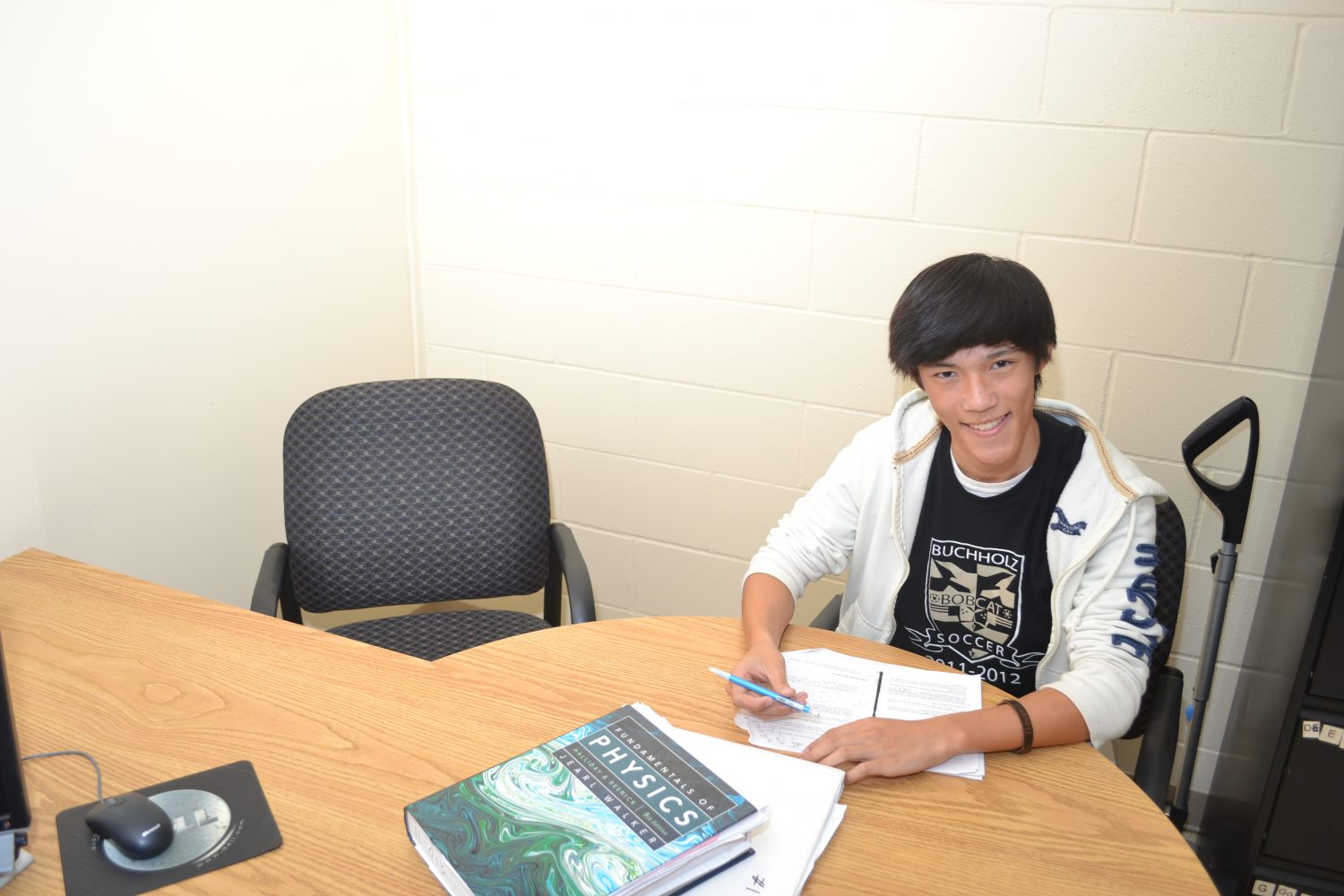 Tony Zeng, a junior at Buchholz High School is just one of 268 students in the nation and five in Florida to qualify for the United States of America Mathematic Olympiad.