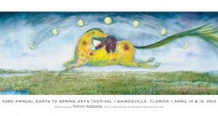 Official poster of the Santa Fe Spring Arts Festival
