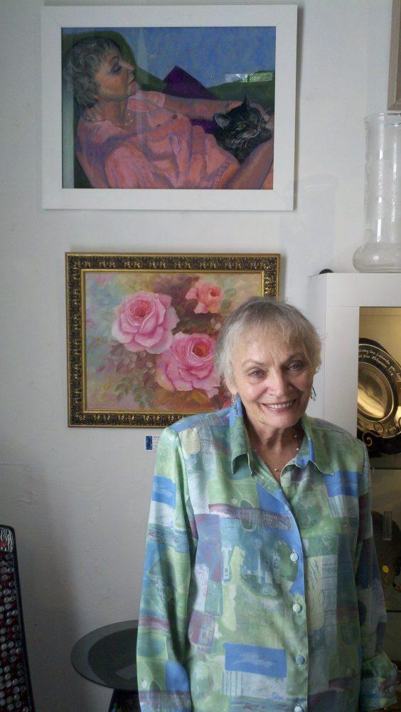 President of the Shake Rag Art & Culture Center, June Beverly