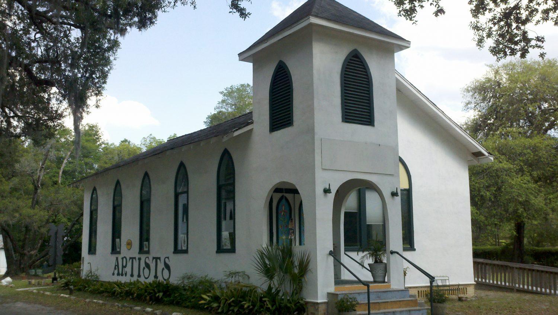 Shake Rag Art & Culture Center in Melrose, Florida.