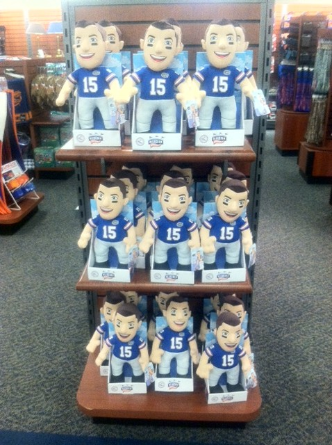 New Tim Tebow Plush dolls out at the Florida Bookstore
