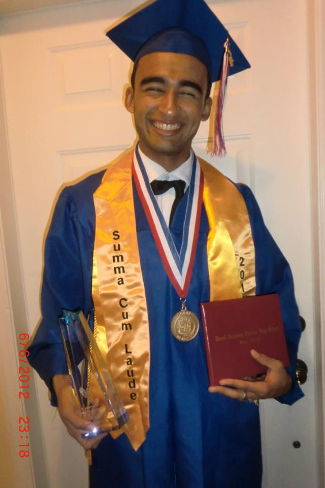 Photo of Christian Aguilar provided by Ashlee Perez, a friend of Christian's.