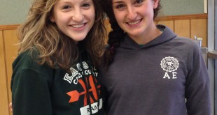 Left to right: Abigail Eisenstadt and Amaleah Mirti.