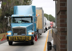 Between 2,500 and 3,000 commercial vehicles travel through the Southbound Agricultural Inspection Station on I-75 during each 12-hour shift.