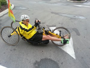 Richard Dixon, paraplegic cyclist