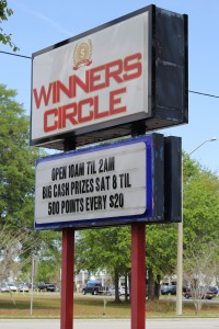 Winners Circle, 2501 N. Main St.