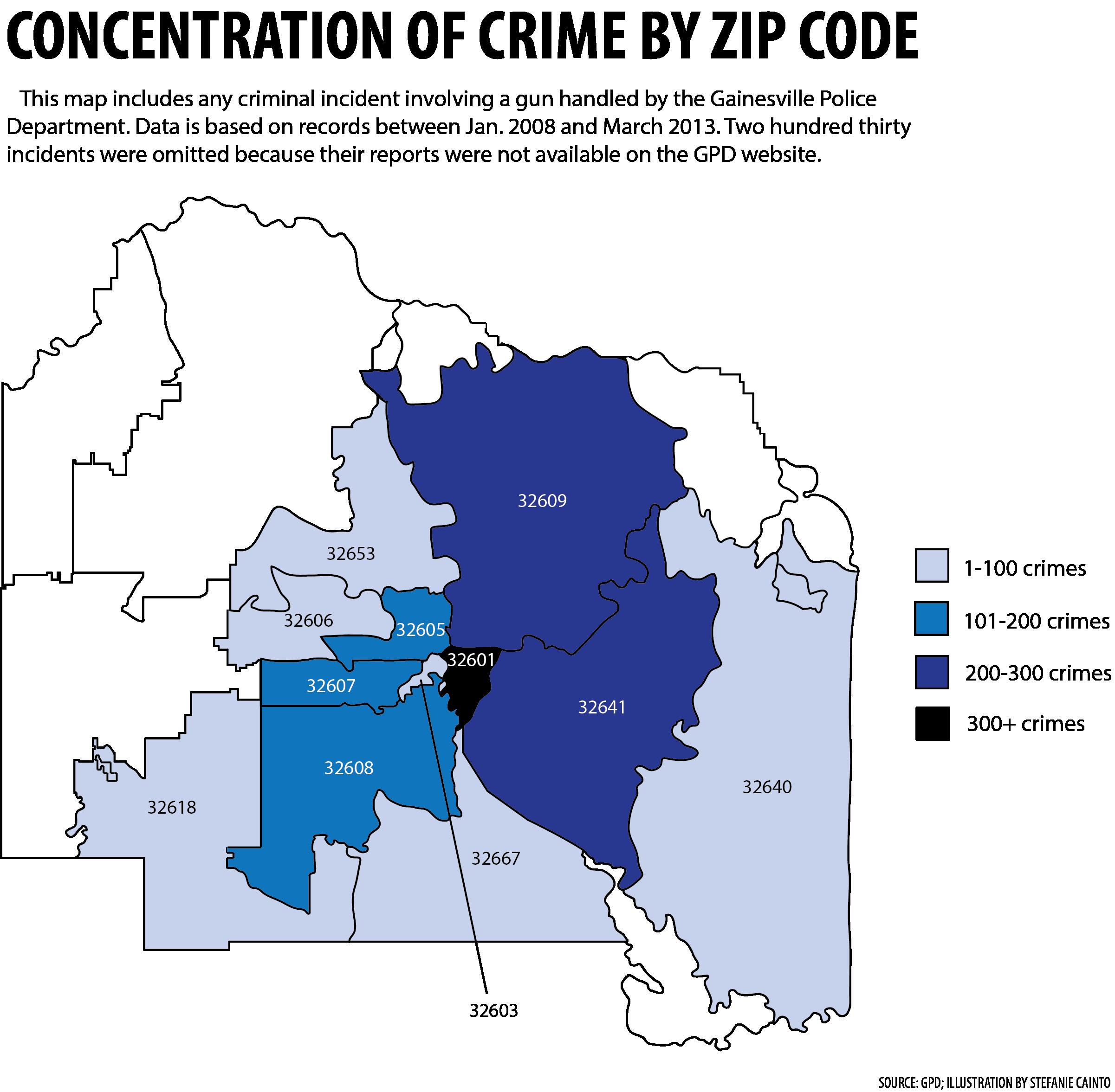 Gainesville Zip Code Map | Zip Code MAP