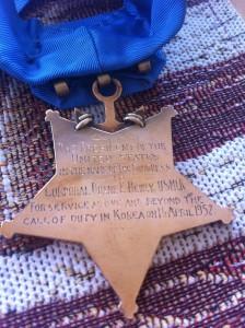 Dewey's Medal of Honor.