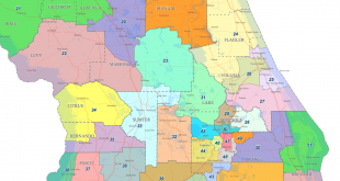 2012 Florida redistricting map