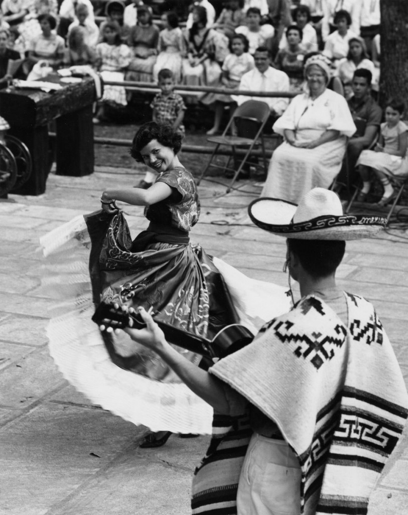 Mexican dancers, 1961.