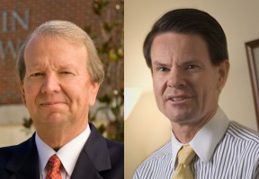 University of Florida professors Jon Mills and Clay Calvert, left to right, have this to say about NSA spying...