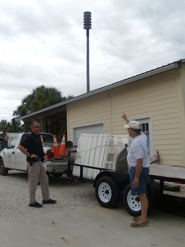 Cedar Key has a centrally-located siren that will sound if an emergency situation arises.
