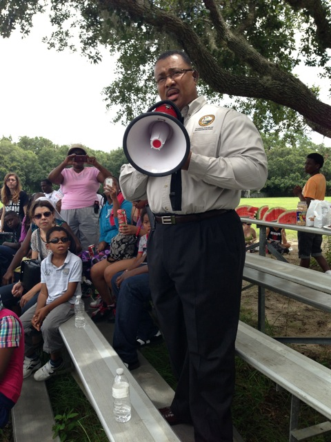 State Rep. Clovis Watson Jr. (D-District 20) attended the Dream Defenders rally Saturday in Gainesville.