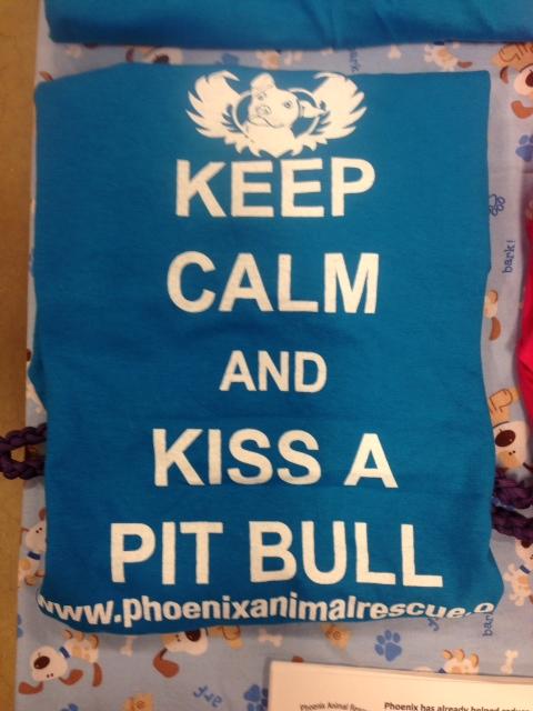 To raise money Phoenix Animal Rescue sells T-Shirts.