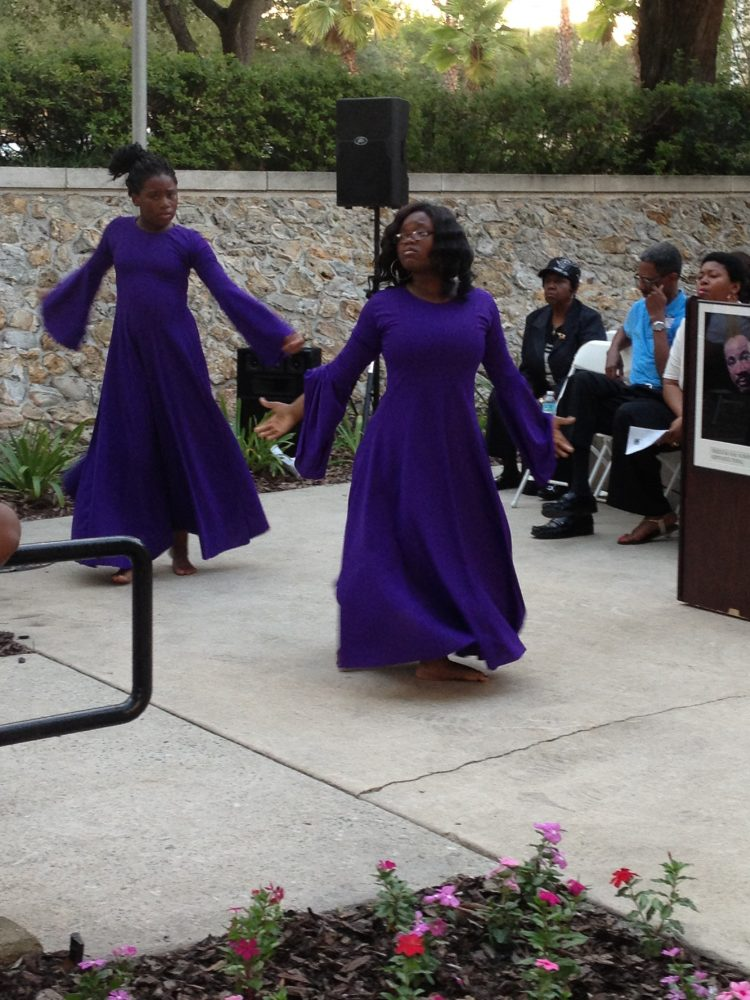 """The M&M Praise Dancers gave a performance at the March on Washington 50th Anniversary Commemorative Program on August 28th. Their dance piece was called, """"Commemorating the March Through Praise and Worship."""""""