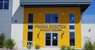 The Prioria Robotics Catalyst Building, which the company moved into in Febuary, located along the 600 block of Depot Ave.