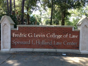 Fredric G. Levin College of Law at the University of Florida.