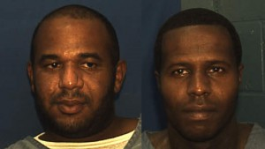 Franklin County inmates Joseph Jenkins (left) and Charles Walker (right) were mistakenly released from prison on Oct. 8 and Sept.27, respectively.