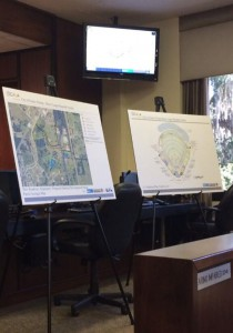 Yankees Organization representatives proposed location and stadium design for the Ocala stadium at the Ocala City Council meeting this morning.