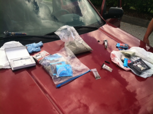 The Marion County Sheriff's Office found 382 grams of synthetic marijuana in a vehicle on Wednesday, Oct. 2.