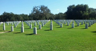 The Florida National Cemetery has 100,000 headstones that will not be maintained due to the government shutdown.