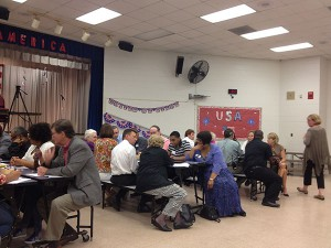 Community members  discussed about the important features they want in the next Alachua County superintendent.